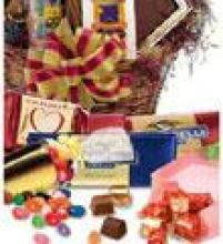 Heroman\'s Florist Chocolate & Candy Basket