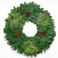 Mixed Noble with Cedar Wreath