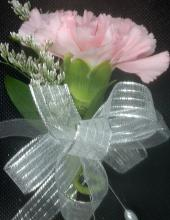Pink Carnation Pin-on Corsage