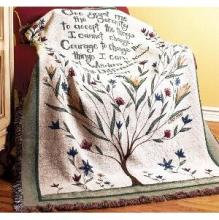 Serenity Prayer Throw III