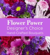 Designer Choice Purple Casket Cover