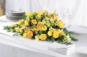 The Golden Garden Centerpiece