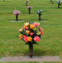 Graveside Urn Arrangement