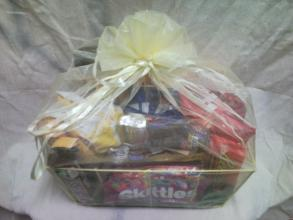 Large Heroman\'s Chocolate & Candy Basket