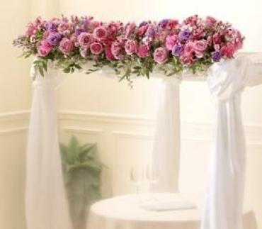 Color & Light Chuppah Garland