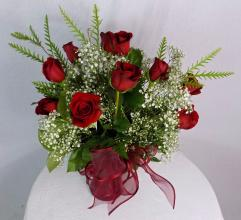 Dozen Medium Stemmed roses Upgrade