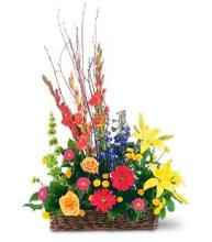 Summer Funeral Basket