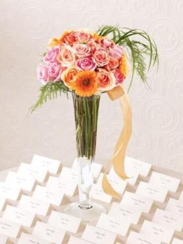 The Celebrate with Us Card Table Arrangement