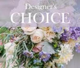 Designer Choice Blue Casket Cover