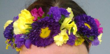 LSU Flower Crown
