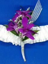 Purple Orchid Armband