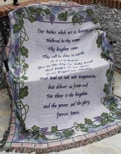 Lord\'s Prayer Throw