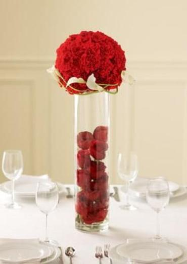 The Rose Topiary Centerpiece
