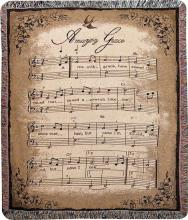 Amazing Grace Song Throw