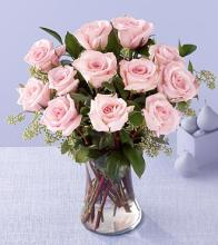 The Enchanting Pink Rose Bouquet