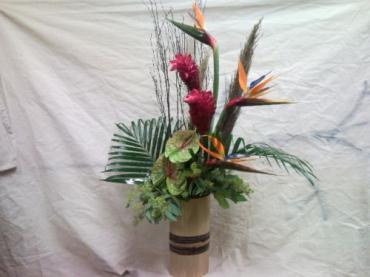 Tropical Keepsake Vase