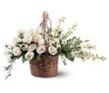 White Takehome Basket
